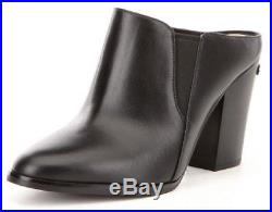 Women's Shoes Michael Kors Braden Closed Toe Mule Clogs Heels Leather Black