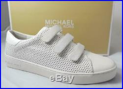 Women's Shoes Michael Kors Craig Low Top Fashion Sneaker Optic White Size 7.5