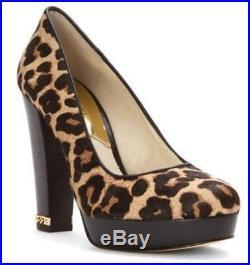 Women's Shoes Michael Kors SABRINA PUMP Slip On Dress Pumps Haircalf NATURAL