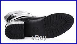 Womens MICHAEL MICHAEL KORS Black Leather Short Pull-on Boots Sz. 9 $250