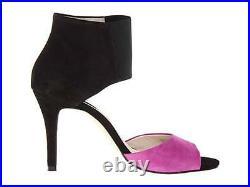Womens Shoes Michael Kors SIVIAN BOOTIE Sandals Heels Black Multi Pomegranate