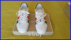 Womens Size 8 Michael Kors Poppy Lace Up Rainbow Collection LGBT Shoe New with box
